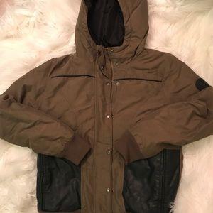 Vans insulated winter jacket